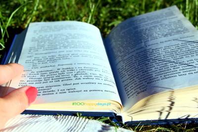 lektura na świeżym powietrzu