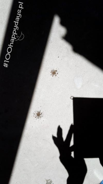 szczęście to plama z czereśni na betonie_100happydays.pl
